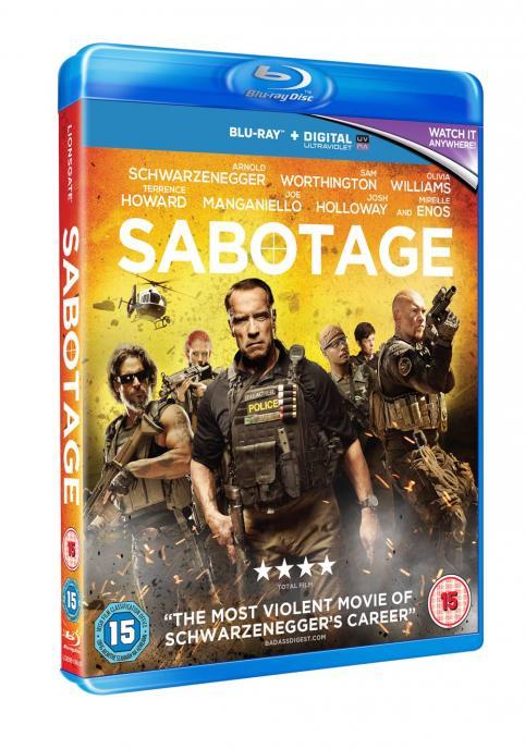 Sabotage on Blu Ray